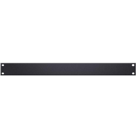 """Adam Hall 19"""" U-Shaped Rack Panel 1U Steel"""