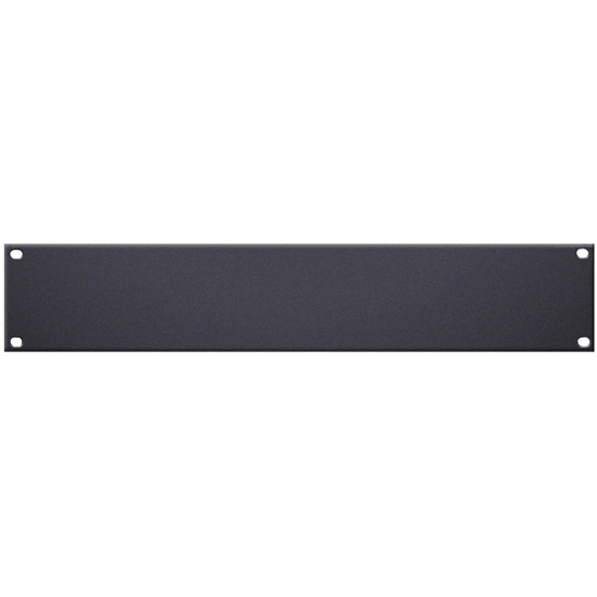 "Adam Hall 19"" U-Shaped Rack Panel 2U Steel"