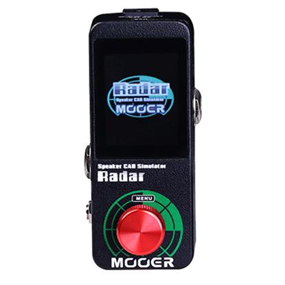 Mooer Radar Cab Simulator