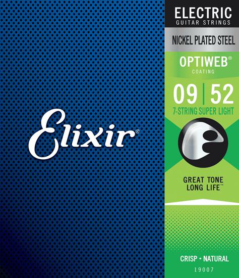 Bild på Elixir Optiweb® 7-string Super Light 009-052