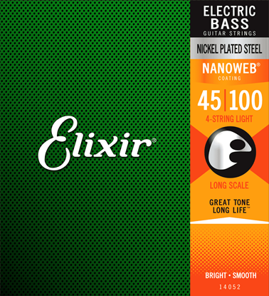 Bild på Elixir Nanoweb® Electric Bass Light 045-100