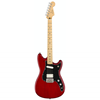 Fender Duo-Sonic™ HS Maple Fingerboard Crimson Red Transparent