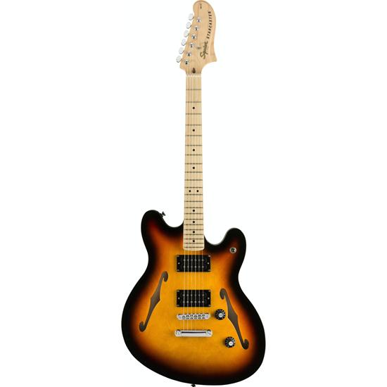 Squier Affinity Series™ Starcaster® Maple Fingerboard 3-Color Sunburst
