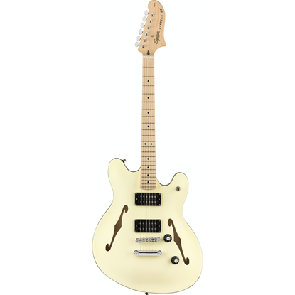 Squier Affinity Series™ Starcaster® Maple Fingerboard Olympic White