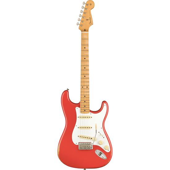 Fender Road Worn '50s Stratocaster Maple Fingerboard Fiesta Red