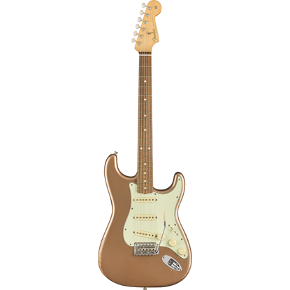 Fender Road Worn '60s Stratocaster Pau Ferro Fingerboard Firemist Gold