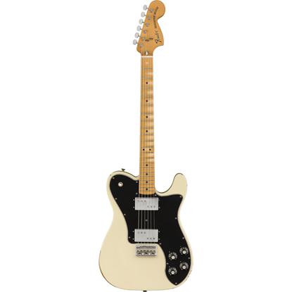 Fender Road Worn '70s Telecaster Deluxe Maple Fingerboard Olympic White