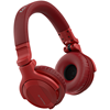 Pioneer HDJ-CUE1BT Red Styled DJ Headphones With Bluetooth