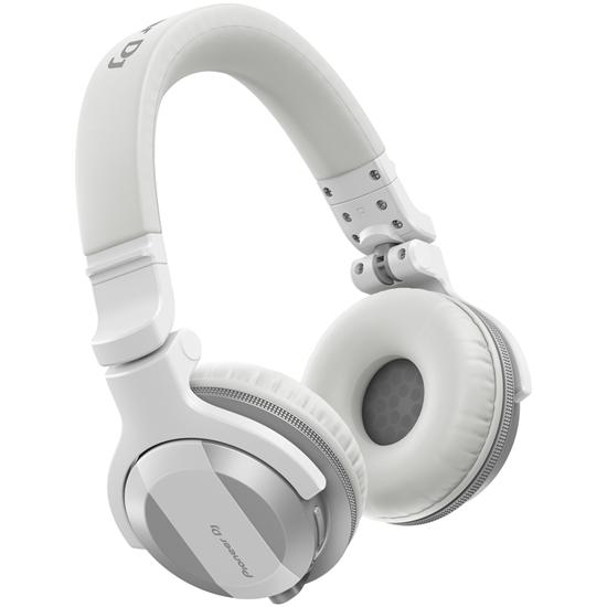 Pioneer HDJ-CUE1BT White Styled DJ Headphones With Bluetooth