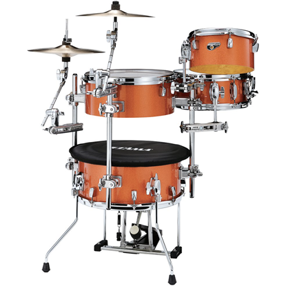 Tama Cocktail-JAM Kit CJB46C Bright Orange Sparkle