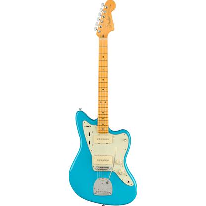 Fender American Professional II Jazzmaster® Maple Fingerboard Miami Blue
