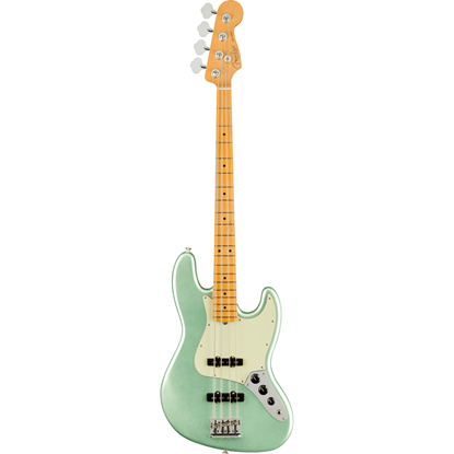 Fender American Professional II Jazz Bass® Maple Fingerboard Mystic Surf Green