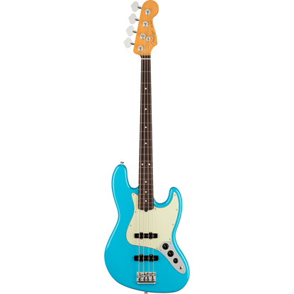 Fender American Professional II Jazz Bass® Rosewood Fingerboard Miami Blue