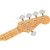 Fender American Professional II Jazz Bass® V Maple Fingerboard Mystic Surf Green