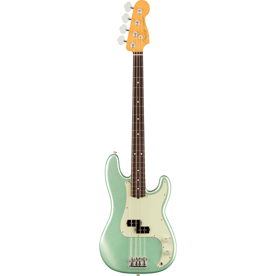 Fender American Professional II Precision Bass® Rosewood Fingerboard Mystic Surf Green