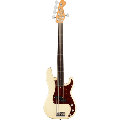Fender American Professional II Precision Bass® V Rosewood Fingerboard Olympic White