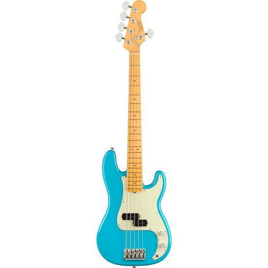 Fender American Professional II Precision Bass® V Maple Fingerboard Miami Blue