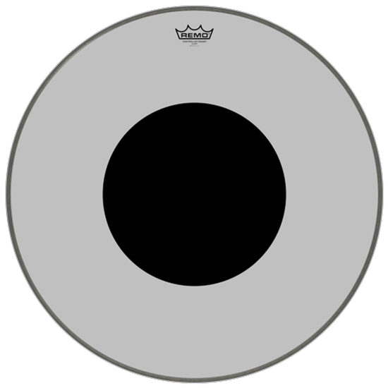 """Remo Controlled Sound® Clear Black Dot™ Bass Drumhead Top Black Dot™ 26"""""""