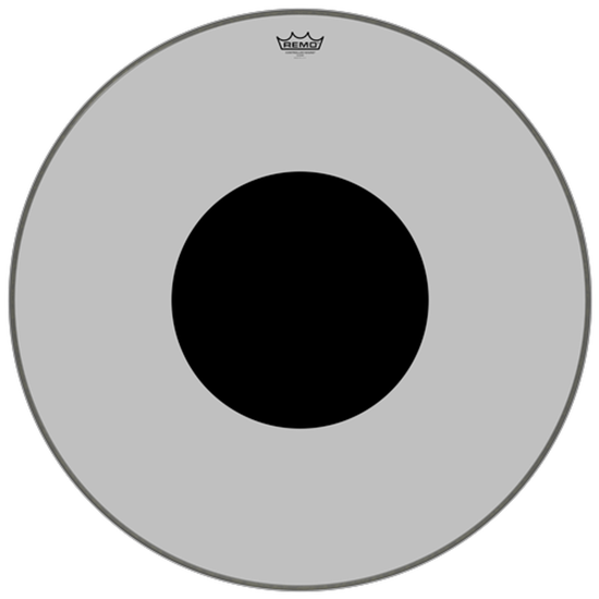 Remo Controlled Sound® Clear Black Dot™ Bass Drumhead Top Black Dot™ 30""