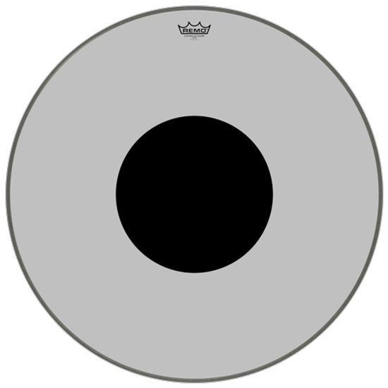 Remo Controlled Sound® Clear Black Dot™ Bass Drumhead Top Black Dot™ 28