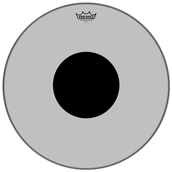 Remo Controlled Sound® Clear Black Dot™ Drumhead Top Black Dot™ 20""