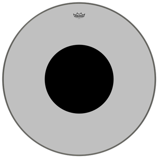 """Remo Controlled Sound® Clear Black Dot™ Bass Drumhead Top Black Dot™ 32"""""""