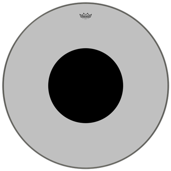 Remo Controlled Sound® Clear Black Dot™ Bass Drumhead Top Black Dot™ 34""