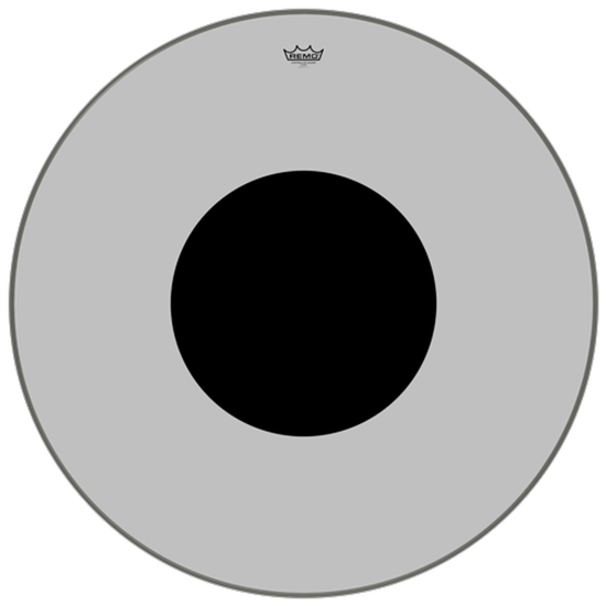 """Remo Controlled Sound® Clear Black Dot™ Bass Drumhead Top Black Dot™ 36"""""""