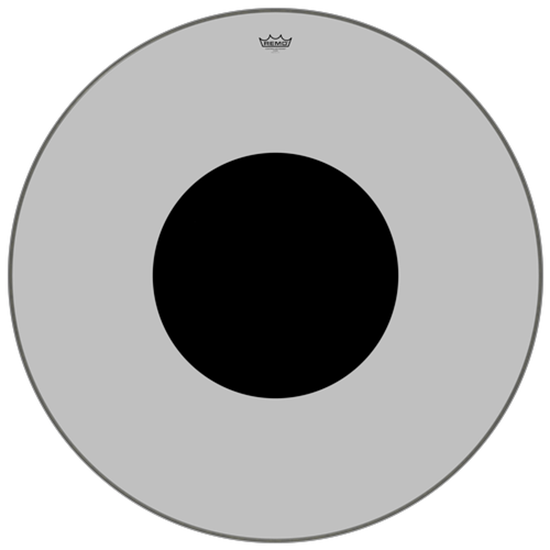 """Remo Controlled Sound® Clear Black Dot™ Bass Drumhead Top Black Dot™ 40"""""""
