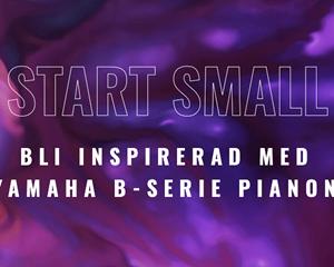 Bild för kategori Start Small Dream Big