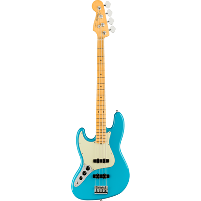 Fender American Professional II Jazz Bass® Left-Hand Maple Fingerboard Miami Blue