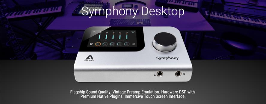 Nya Symphony Desktop från Apogee