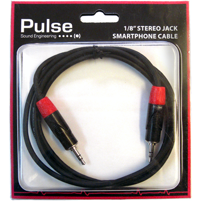 Pulse Audiokabel 3,5mm TRS 1,5 meter