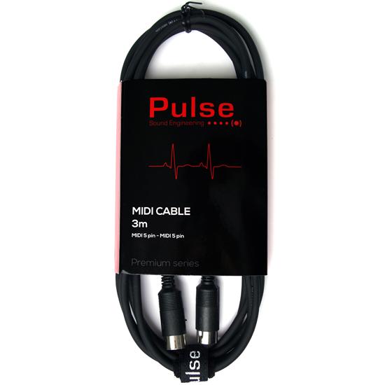 Pulse MIDI-kabel 3 meter