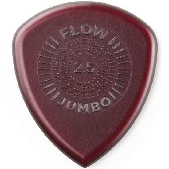 Dunlop Flow Jumbo 547P250 Plektrum 3-pack