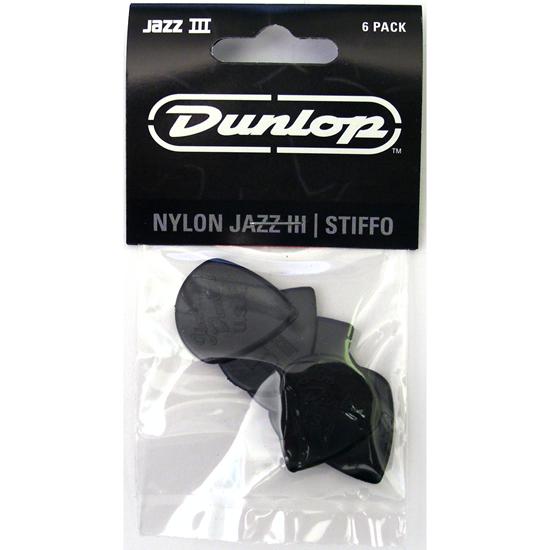 Dunlop Jazz III 47P3S Plektrum 6-pack
