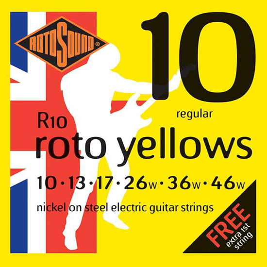 Rotosound Roto Yellows 10-46