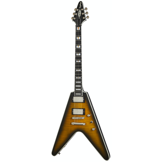 Epiphone Flying V Prophecy Yellow Tiger Aged Gloss