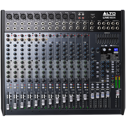 Alto LIVE 1604 Professional 16-Channel 4-Bus Mixer