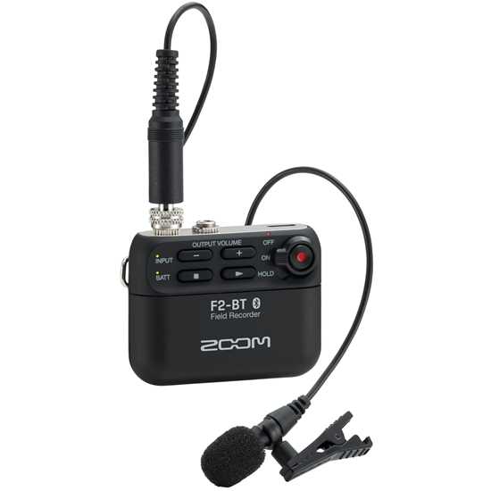 Zoom F2-BT Field Recorder & Lavalier Mic