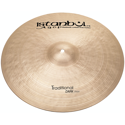 "Istanbul Agop 17"" Traditional Dark Crash"