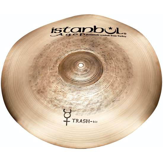 """Istanbul Agop 10"""" Traditional Trash Hit"""