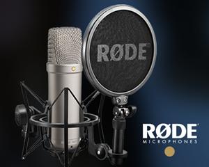 Bild för kategori RØDE - Studio, Podcast, Trådlöst och Streaming