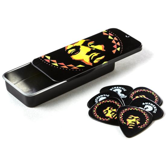 Dunlop Jimi Hendrix™ Aura Mandala Pick Tin