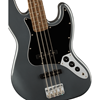 Squier Affinity Series™ Jazz Bass® Charcoal Frost Metallic