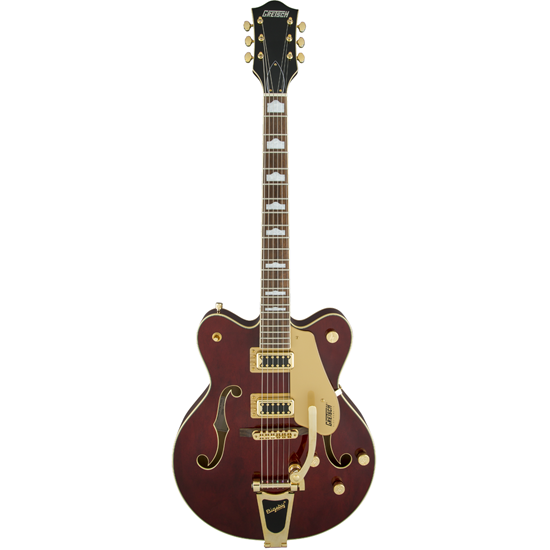Gretsch G5422TG Streamliner™ Hollow Body Double-Cut With Bigsby Walnut Stain