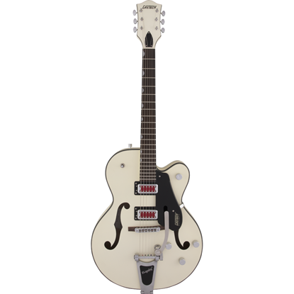 "Gretsch G5410T Electromatic® ""Rat Rod"" Hollow Body Single-Cut With Bigsby® Matte Vintage White"