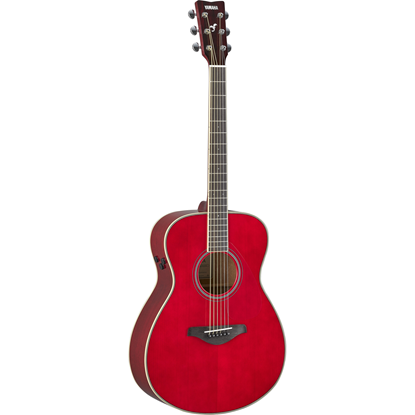 Yamaha FS-TA TransAcoustic Ruby Red
