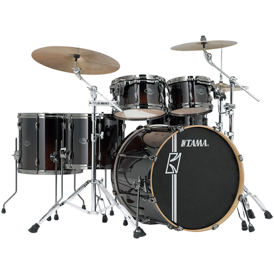 Tama Superstar Hyper-Drive Maple ML52HLZBNS-DMF Dark Mocha Fade