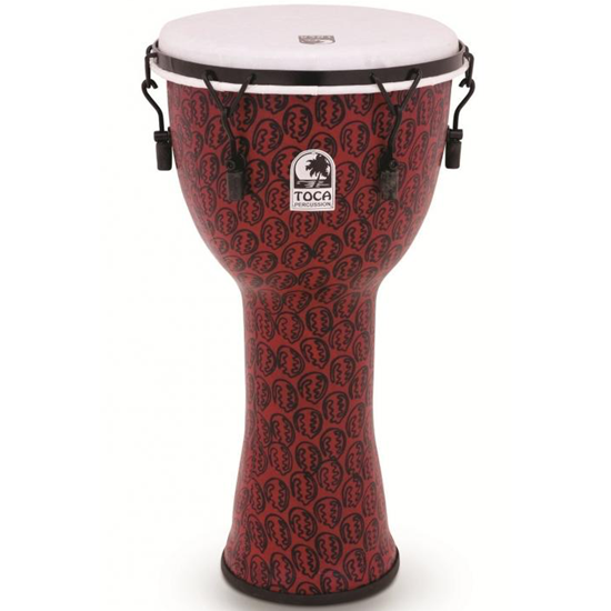 """Toca Djembe Freestyle 2 12"""" Red Mask"""